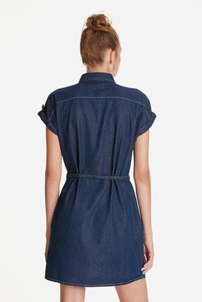 Mavi Kadın Barbara Lux Touch Lyocell Jean Elbise 130548-28636 4