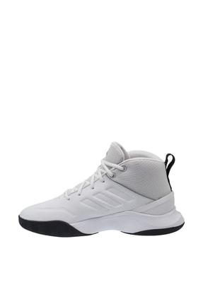 adidas OWNTHEGAME Beyaz Erkek Basketbol Ayakkabısı 100663970 2