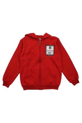 E.R.D Kids Kırmızı Kız Çocuk Sweatshirt 0