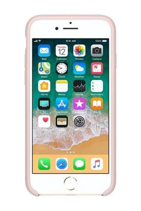Telefon Aksesuarları Iphone 7/8 Silikon Kılıf Kum Pembesi 0