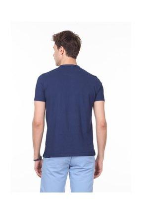 Ramsey İndigo Düz Örme T - Shirt RP10113919 3