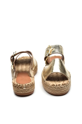 Jeep Ayakkabı Altın Kadın Terlik 9Y2MAJ0058 3
