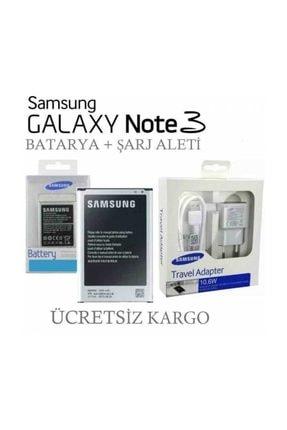 Samsung Galaxy Note 3 Batarya + Şarj Aleti 0