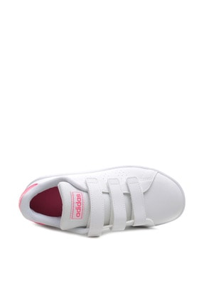 adidas ADVANTAGE Beyaz Kız Çocuk Sneaker Ayakkabı 100481652 4