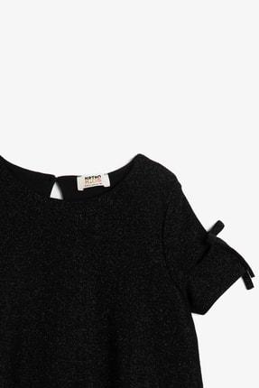 Koton Siyah Kız Çocuk Elbise 2