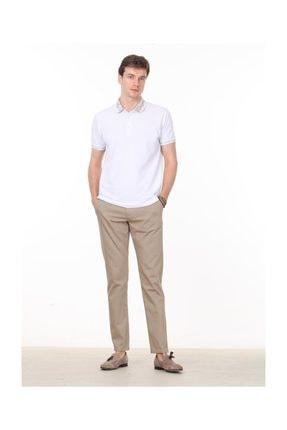 Ramsey Beyaz Düz Örme T - Shirt RP10113808 2