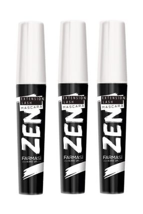 Farmasi 3 Adet Zen Maskara 8 ml 0