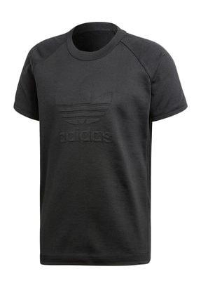 adidas Erkek T-Shirt - Knitted Trefoil Tee - CW1350 2
