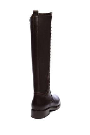 Kemal Tanca Hakiki Deri Kahverengi Kadın Çizme Çizme 94 6429 C BN CZM 3