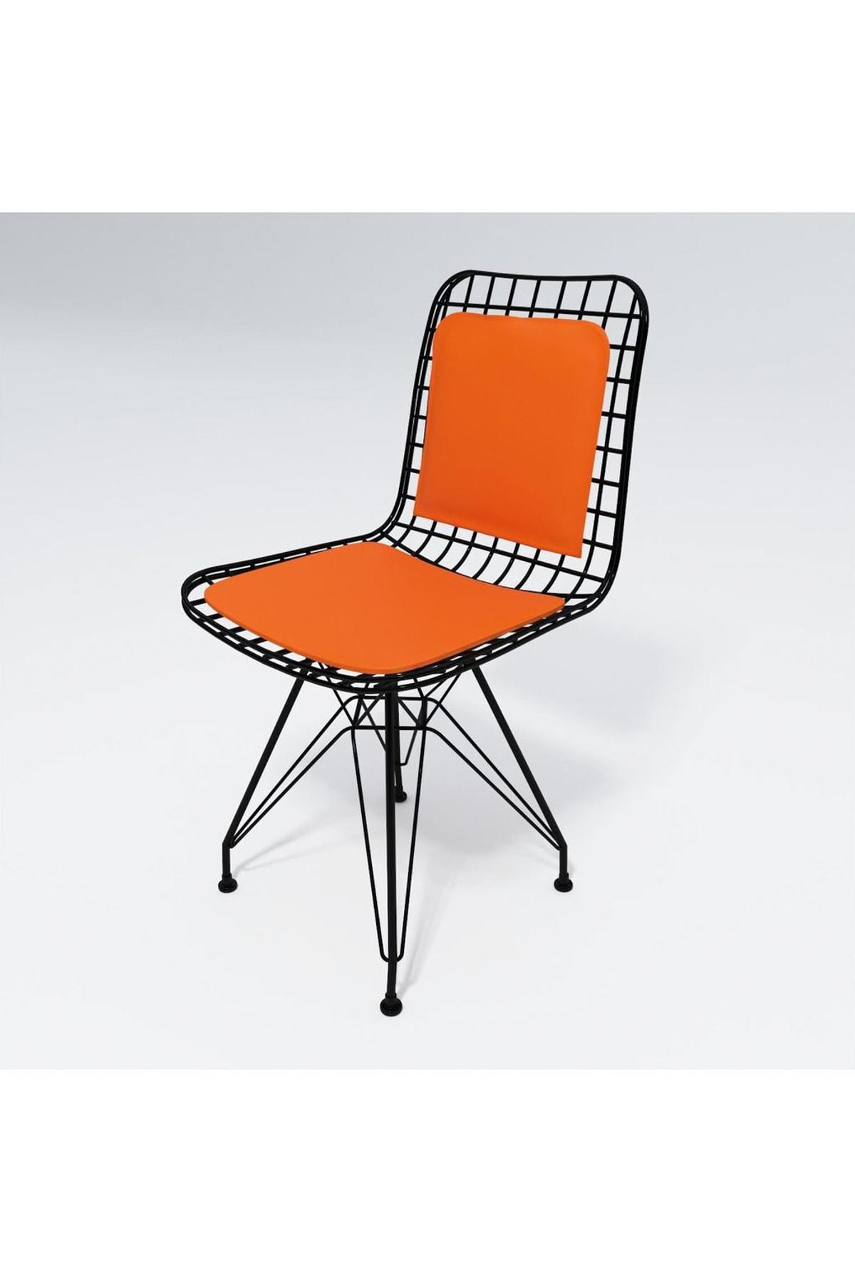 Kenzlife Knsz kafes tel sandalyesi 1 li mazlum syhtrn sırt minderli ofis cafe bahçe mutfak