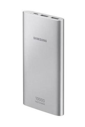 Samsung 10.000 mAh Type-C Gümüş Powerbank (Samsung Türkiye Garantili) EB-P1100CSEGTR 0