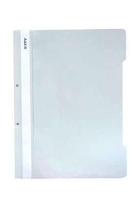 Leitz 4189 Plastik Telli Dosya 50'li Renk - Beyaz 0