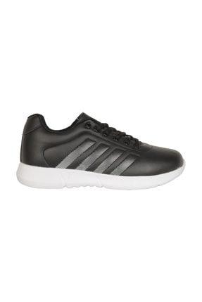 Cheta C047 Siyah-beyaz Günlük Yürüyüş Bayan Spor Ayakkabı 0