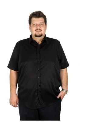 Picture of Büyük Beden Erkek Gömlek Kısa Kol