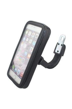 Tex Motosiklet Telefon Tutucu Su Geçirmez Ayna Bağlantılı Xl (6,3 Inç) 4