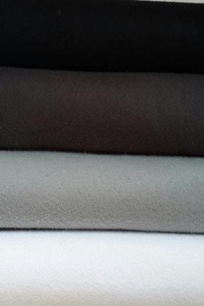 ByOzras Siyahlı Tonlar İnce Keçe - 4 Renk - 50x50 cm - Hobi Malzemesi 0