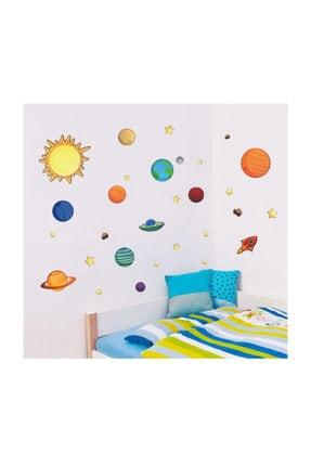 KT Decor Mars Güneş Sistemi Dünya Ve Gezegenler Duvar Sticker 0