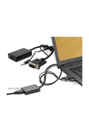 MAXGO Vga To Hdmi Kablo Dönüştürücü Görüntü Ve Ses Çevirici Hdmı Bst-2067p 1