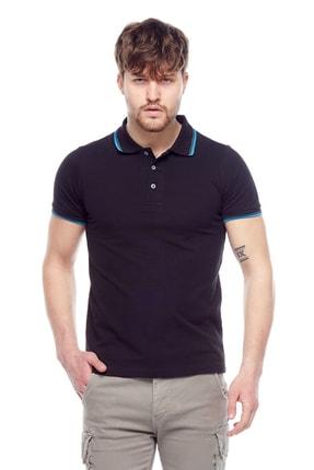 Tena Moda Erkek Siyah Polo Yaka Tişört 0