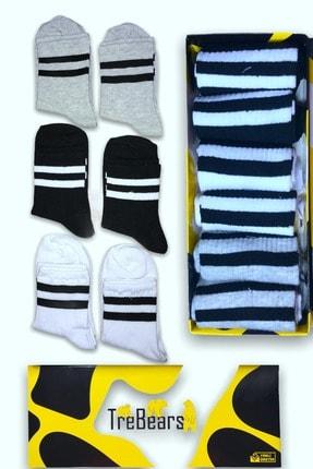 Çorap - Çizgili Çorap TRE9378