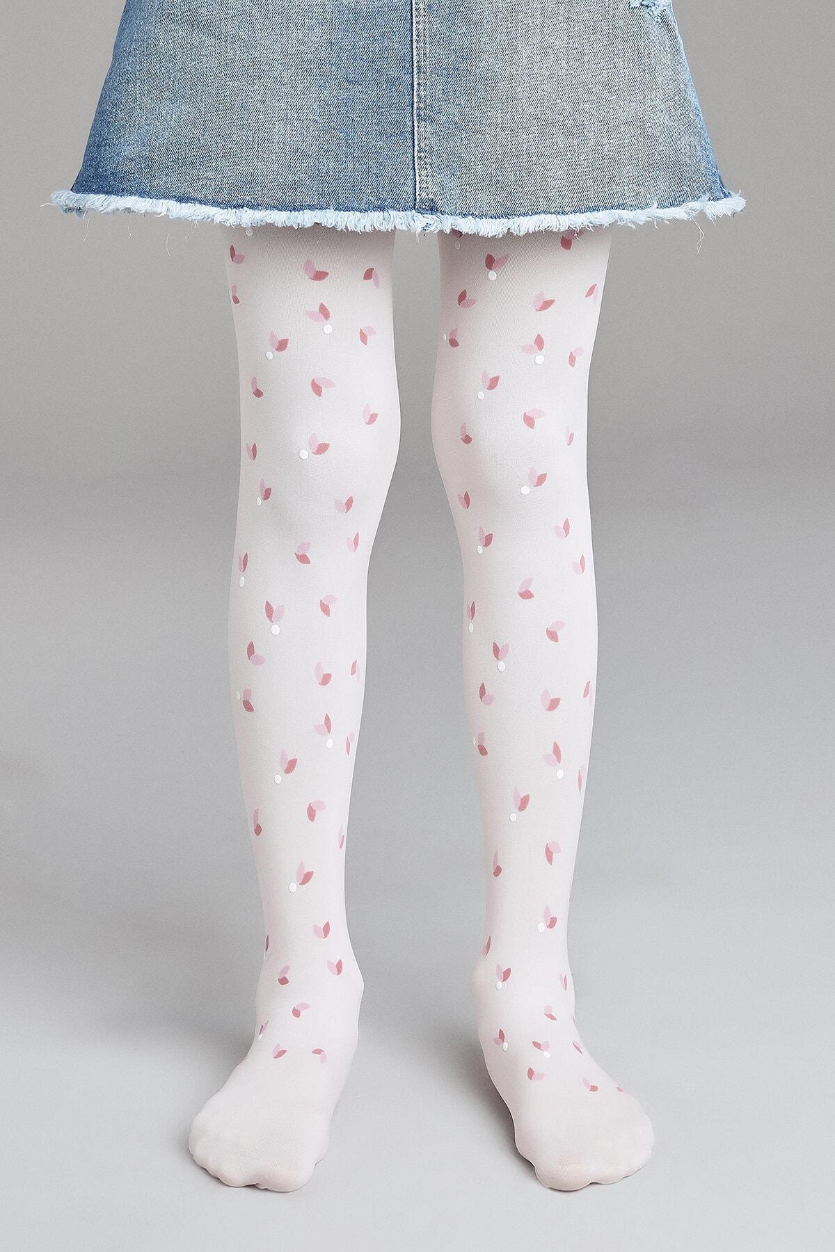 Penti Kız Çocuk Lotus Külotlu Çorap 0