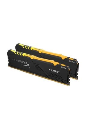 Kingston 16gb (2x8gb) 3200mhz Hyperx Fury Rgb Ddr4 Hx432c16fb3ak2/16 4