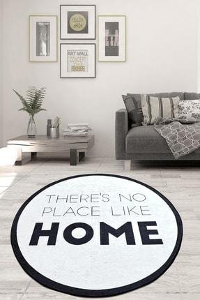 Chilai Home Like Home Djt Çap Kaymaz Taban Dekoratif Halı 0