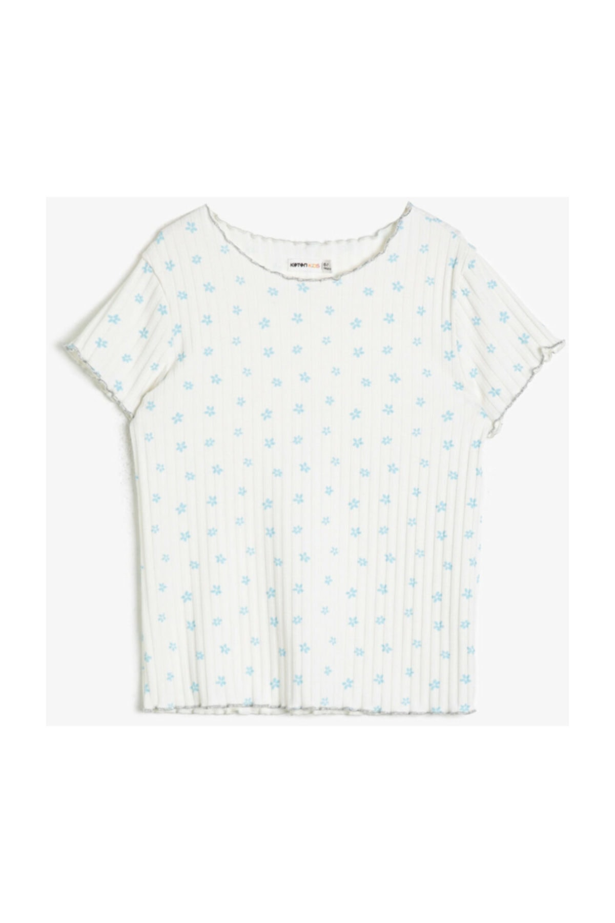 Ekru Kız Çocuk T-Shirt 0YKG17923AK