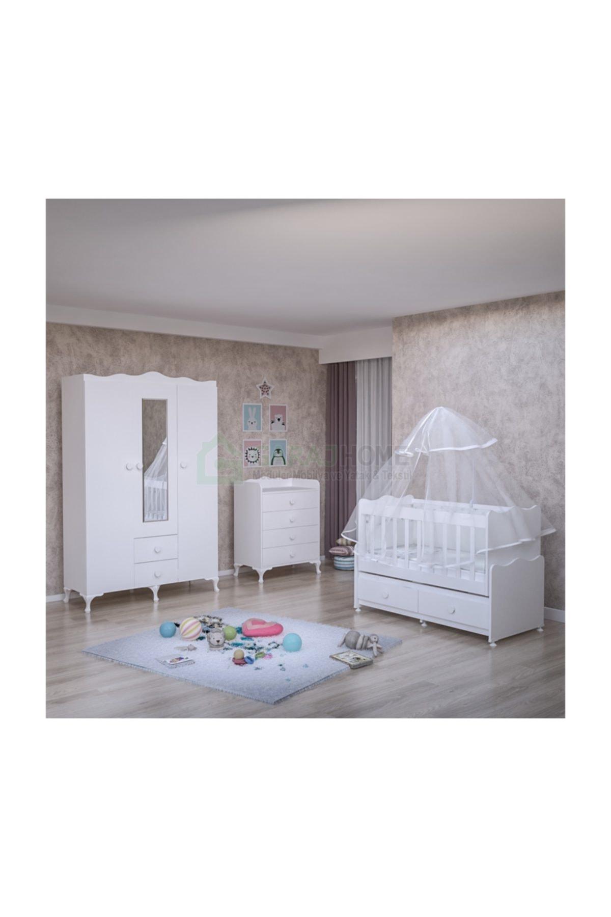 Elegant Bebek Odası Takımı  Yatak Ve Uyku Seti Kombinli