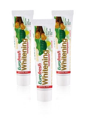 Farmasi Eurofresh Misvaklı Beyazlatıcı Diş Macunu 50 gr x 3 Adet 0