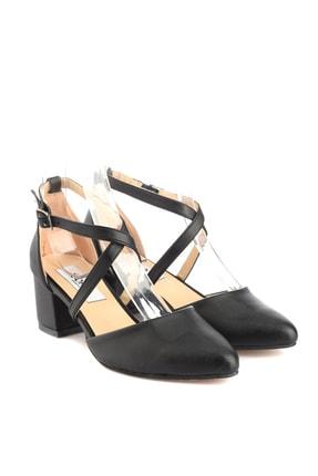 Soho Exclusive Siyah Kadın Klasik Topuklu Ayakkabı 14392 3