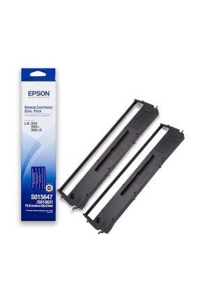 Epson Lx-350/c13s015647 2'li Orjinal Şerit 0