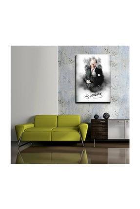 mağazacım Atatürk Takım Elbiseli Portre 50 Cm X 70 Cm Kanvas Tablo Tbl1196 1