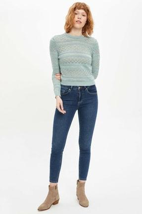 Defacto Kadın Yeşil Agata Super Skinny Jean Pantolon M8338AZ.20SP.NM41 2