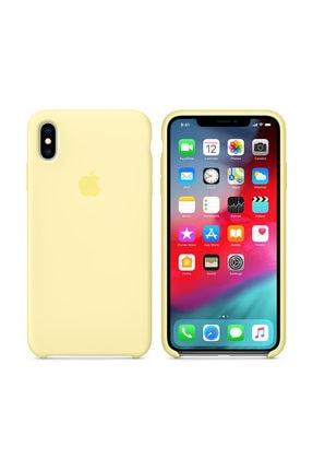 Apple iPhone Xs Max Mellow Yellow Kılıf - MUJR2FE/A 0