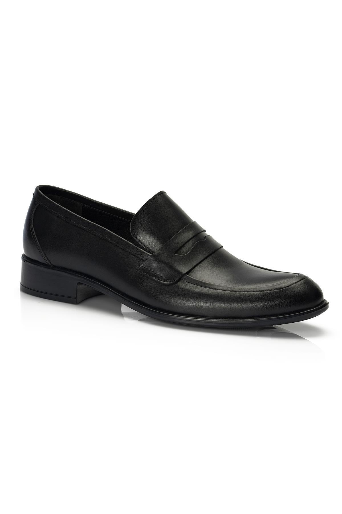 Muggo H040 Hakiki Deri Klasik Erkek Ayakkabı 0