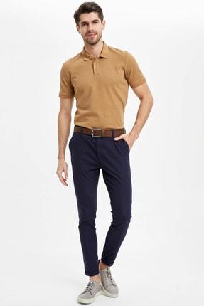 Defacto Regular Fit Polo Yaka Basic Kısa Kollu Tişört 1