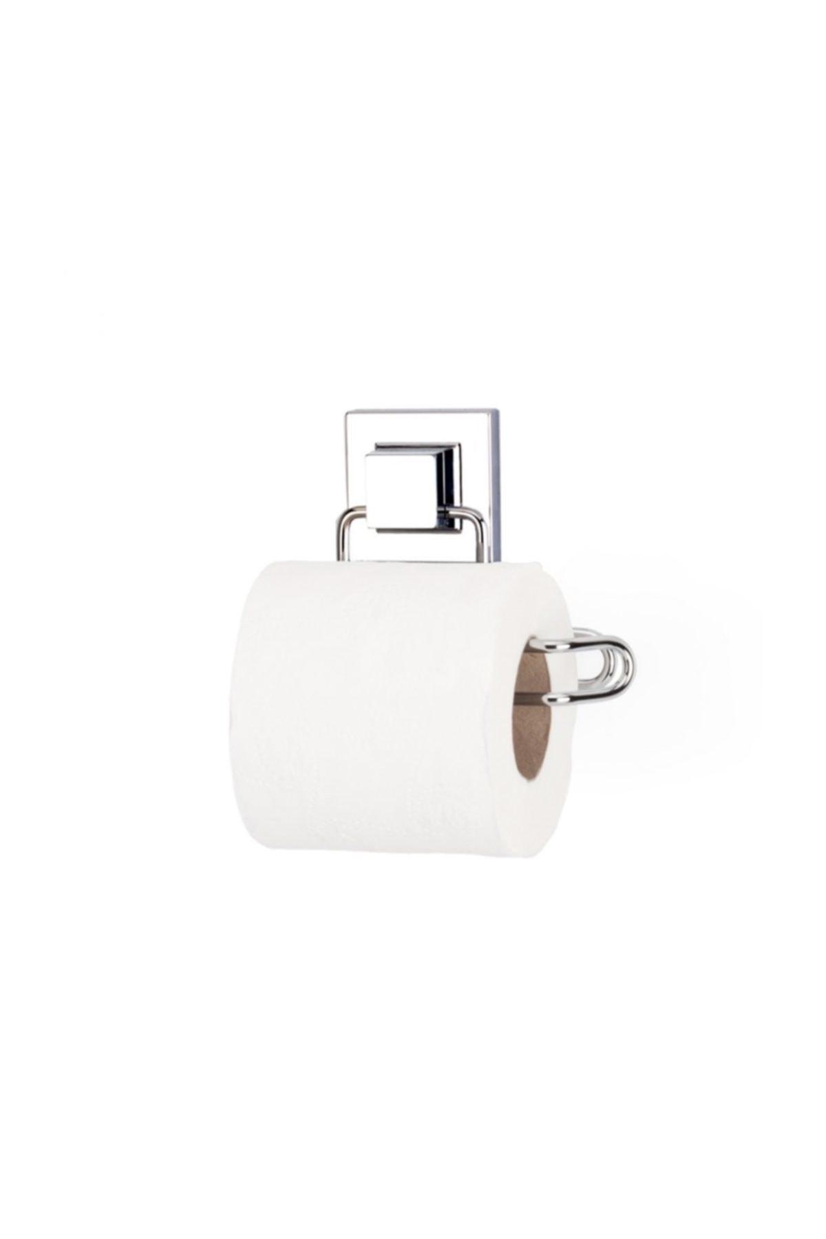 Banyo Tuvalet Kağıdı Askısı Paslanmaz Krom Yapışkanlı Easyfix