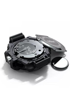 LOKMAT Akıllı Erkek Kol Saati Siyah MK28 4