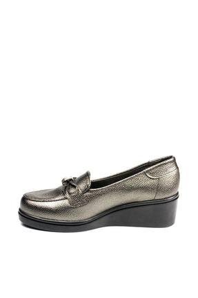 Polaris 92.151039.Z Gümüş Kadın Dolgu Topuklu Ayakkabı 100428480 2