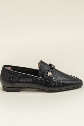 Elle ESTEFANY-1 Deri Siyah Kadın Ayakkabı 3