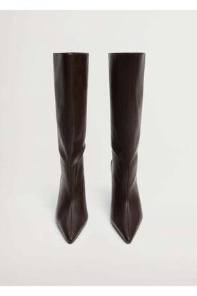 Mango Kadın Çikolata Çizme 87050086 3