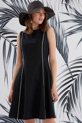 Journey Elbise-sıfır Yaka Ve Kup Biye Detaylı, Kolsuz 1