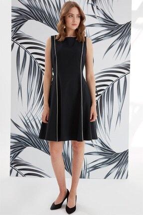 Journey Elbise-sıfır Yaka Ve Kup Biye Detaylı, Kolsuz 2