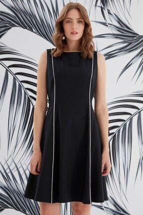 Journey Elbise-sıfır Yaka Ve Kup Biye Detaylı, Kolsuz 4