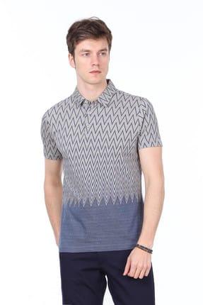 Ramsey Jakarlı Örme T-Shirt - RP10113773 0