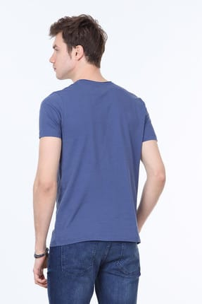 Ramsey Düz Örme T-Shirt - RP10113928 3