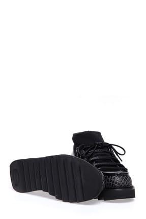 ALBERTO GUARDIANI Kadın Siyah Sneaker 4