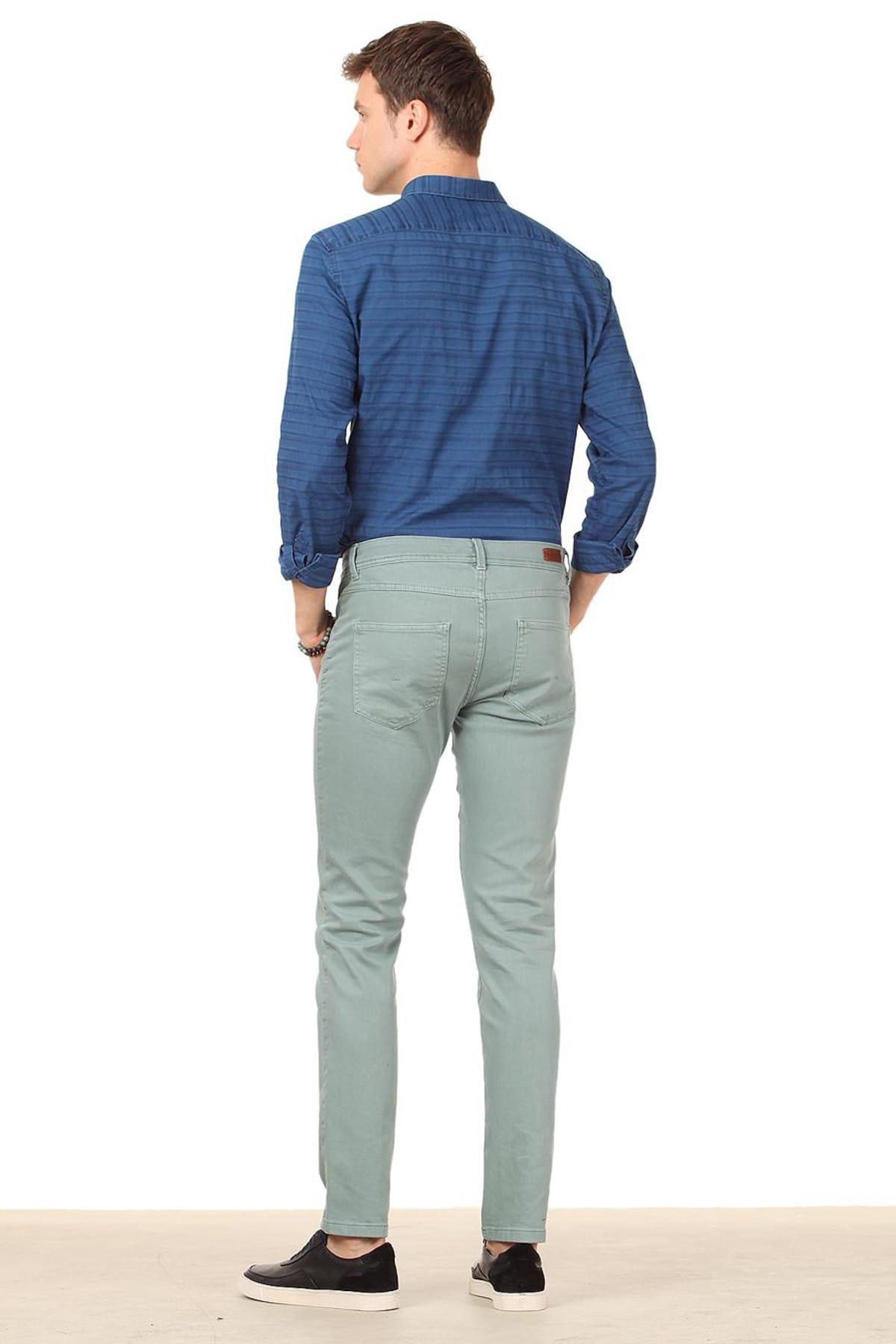 Ramsey Düz Dokuma Pantolon - RP10114109