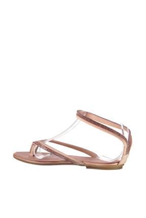 İnci Hakiki Deri Açık Pembe Kadın Sandalet 120130002445 3